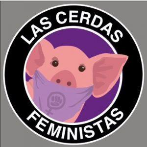 Figura 12. Logotipo de Las Cerdas Feministas.