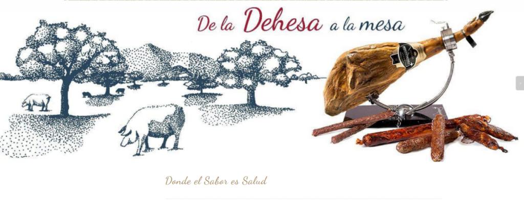 Figura 3. Captura de la imagen de la portada de la web de Montesierra. La estrella del jamón (2019).